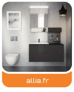Allia - Meubles salles de bains Charente-Maritime - Entreprise Tessier