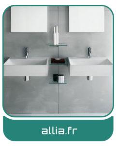 Allia - Sanitaires - salles de bains Charente-Maritime - Entreprise Tessier