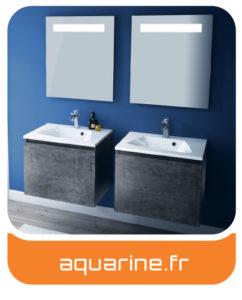 Aquamarine - Meubles salles de bains Charente-Maritime - Entreprise Tessier