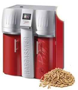 Chaudière à granulés - pellets Hargassner2