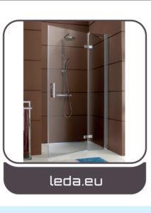 Leda - porte de douche salles de bains Charente-Maritime - Entreprise Tessier