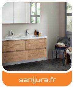Sanijura - Meubles salles de bains Charente-Maritime - Entreprise Tessier